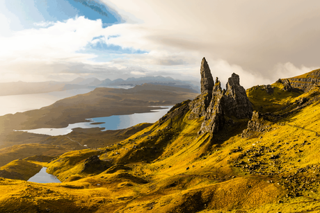 Old Man of Storr - Isle of Skye Schottland