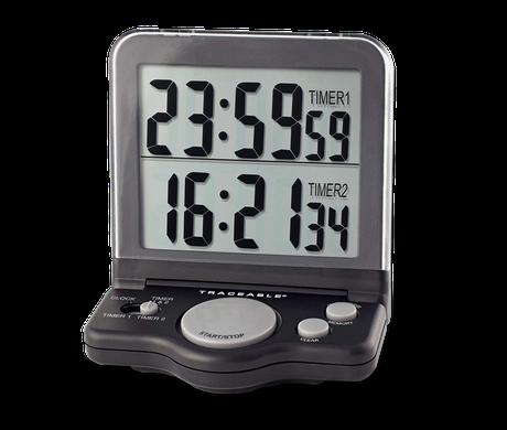 Timer contador de dos canales con certificado trazable a NIST 5022
