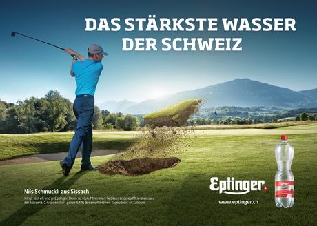 Eptinger Mineralwasser Werbung Golf (2017)