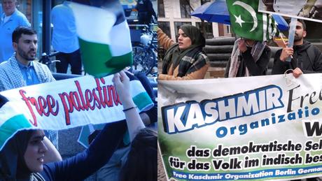 Protestkundgebung: Free Kashmir & Free Palestine - 14.10.2019 - 18:00 Uhr - Berlin, Pariser Platz - Sonder-Mahnwache für Frieden!