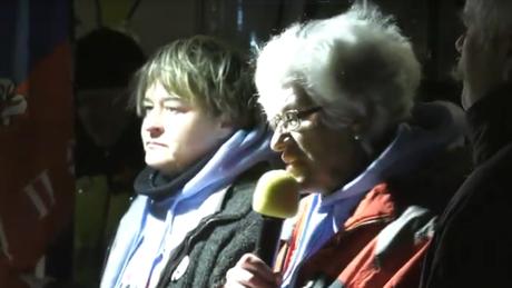 Sondermahnwache für den Frieden - Ukraine und Donbass