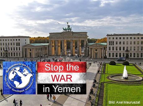 08.07.2019 - 18:00 Uhr: Berlin - Pariser Platz Mahnwache für Frieden - Iran vs. Saudi Arabien