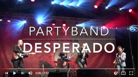 Partyband DESPERADO die Coverband mit den aktuellen Hits