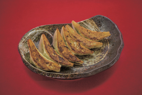 慶珉名物の野菜餃子