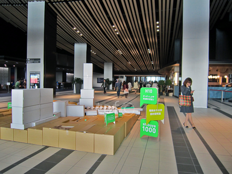 Multiple Installations at Hikarie Shibuya, March 2013