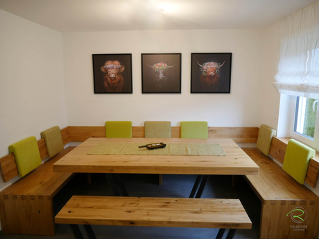 Moderne Eckbank - Schreinerei - Holzdesign Rapp Geisingen