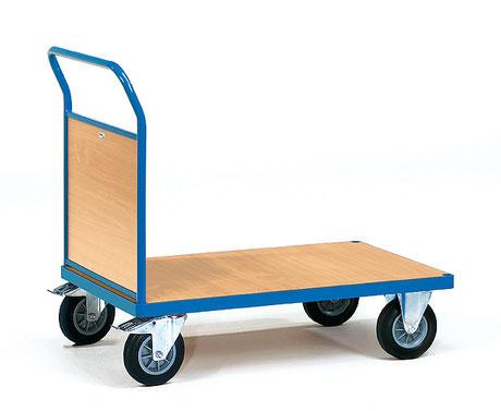 Tischwagen mit flachem Griff, 3 Ablageebenen