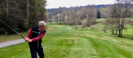 Ostersamstag 2017 auf dem Golfplatz Freudenstadt