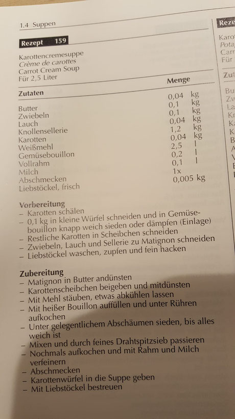 Rezept Rüeblisuppe