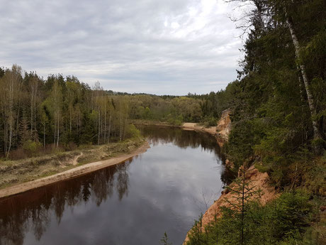 Visit Latvia, kayaking and caneing through the rivers and lakes of Latvia