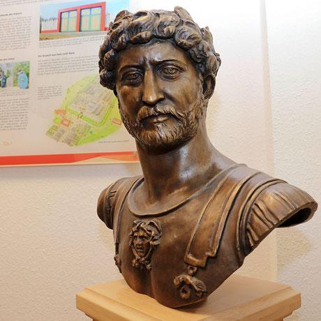Publius Aelius Hadrianus; Foto: Wilhelm Dietzel