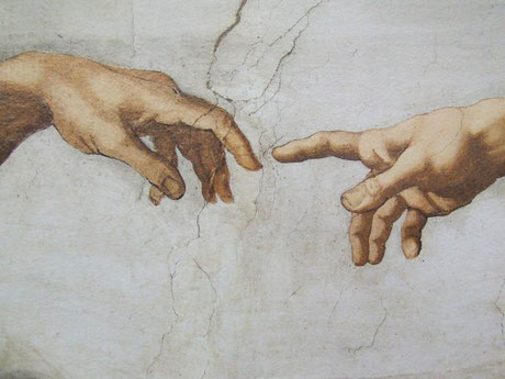 Von Michelangelo - Flickr: The Creation Michelangelo Vatican Museums Italy - Creative Commons by gnuckx, CC BY 2.0, https://commons.wikimedia.org/w/index.php?curid=22559081