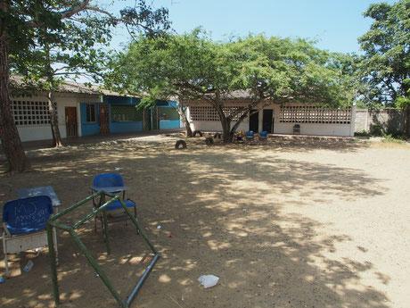Eine öffentliche Schule in Kolumbien