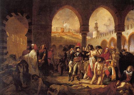 GROS : les pestiférés de Jaffa
