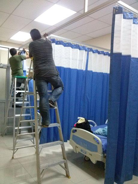 Cortinas tipo hospitalarias cortinas y persianas cortinas guayaquil cortinas cortinas en - Cortinas y rieles ...