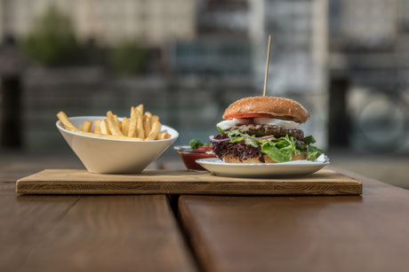 The best Burgers in town, Die besten Burger in der Stadt