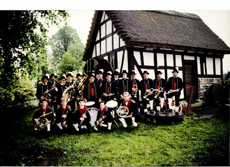 1978 - Blaskapelle in neuer Schwarzwälder Tracht