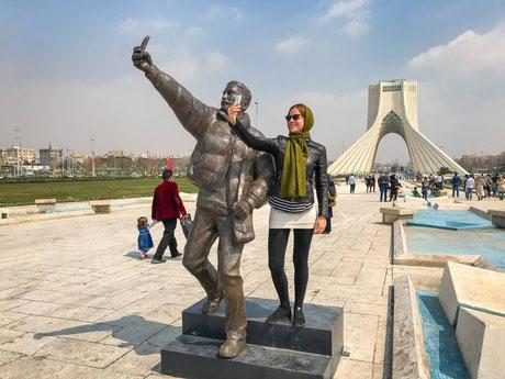 Teheran, Azadi toren, Azadi tower, Azadi torre, Vrijheid Toren, vakantie, reizen iran