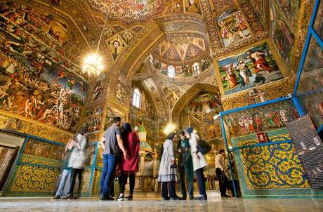 Vank Kathedraal, Esfahan, Isfahan, Vank cathedral