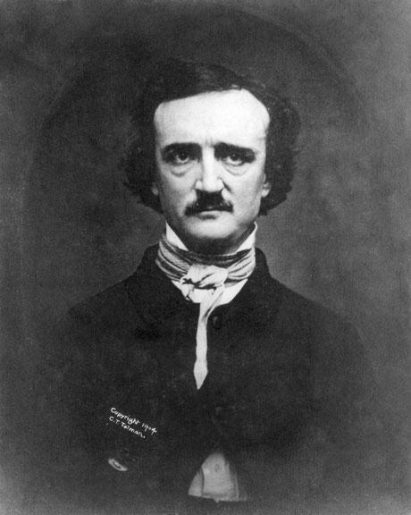 Bild zeigt Edgar Allan Poe [Bild: www.pixabay.com]