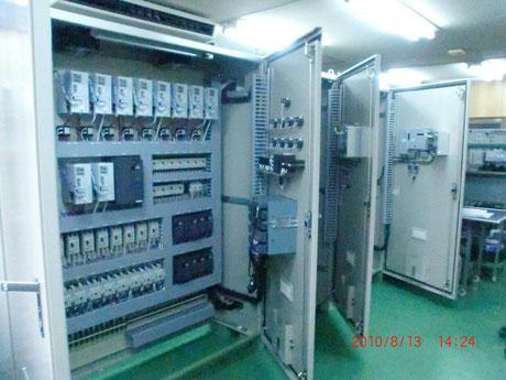 大型電機炉用 制御盤