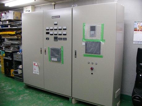 大型乾燥機用 制御盤