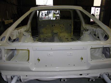 AE86トレノ クリヤ塗装
