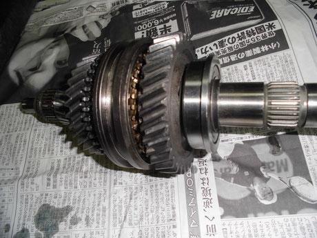 AE86 1-2速 組付け