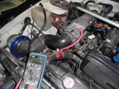 AE86 レビン スロポジ調整