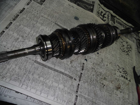 AE86 ミッション メインシャフト オーバーホール