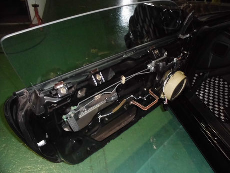 S14シルビア ドアロック取り付け
