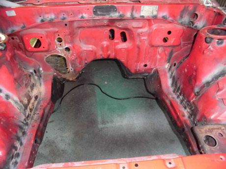 AE86 フルスポット フロントフレーム