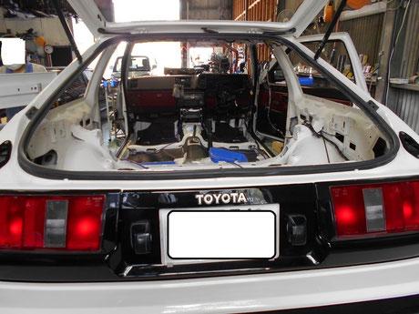 AE86 テールランプ テールガーニッシュ