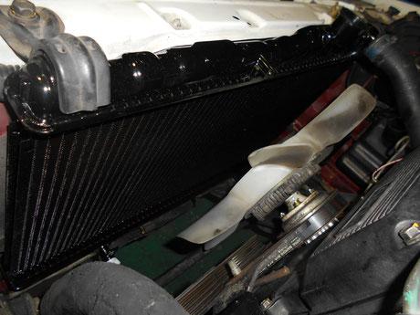 AE86 ラジエター交換