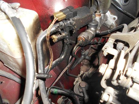 AE86 オイル漏れ