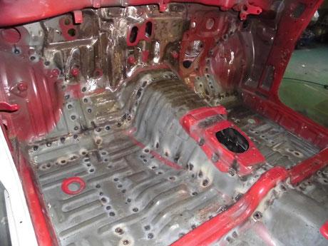 AE86 フルスポット フレーム
