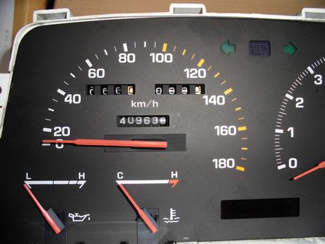 AA63 セリカ スピードメーター取付け