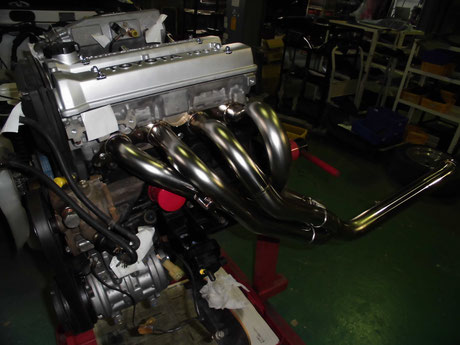 AE86 トレノ エンジンオーバーホール