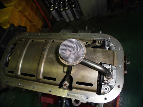 AE86 トレノ オイルストレーナー洗浄