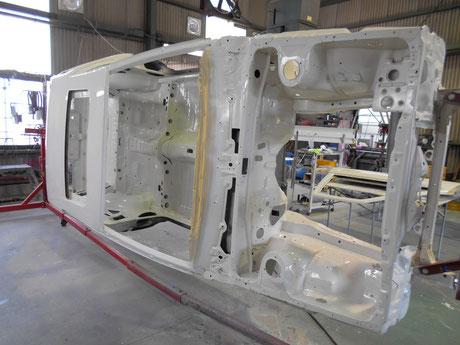 AE86 レビン レストア クリヤ塗装