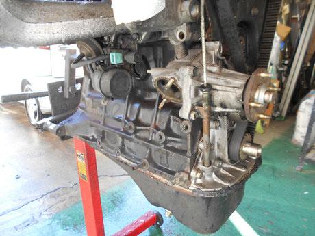 AE86 エンジン洗浄