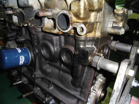 AE86 トレノ 4AG オイル漏れ
