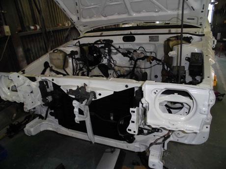 AE86 トレノ ヘッドライトブラケット コンデンサー