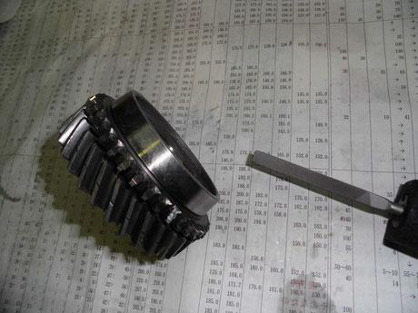 AE86 ギヤ修正