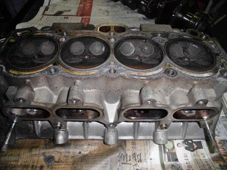 AE86 4AG シリンダヘッド