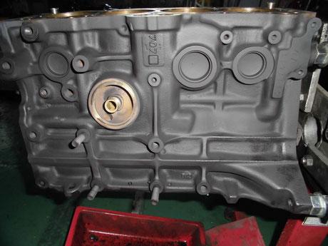 AE86 4AG シリンダブロック洗浄