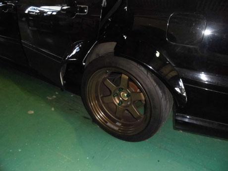 CL1 トルネオ リヤオーバーフェンダー