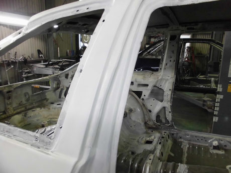 AE86トレノ ピラー修理