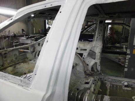 AE86トレノ フルレストア ピラー修理