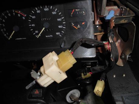 AW11 MR2 ヘッドライトスイッチ
